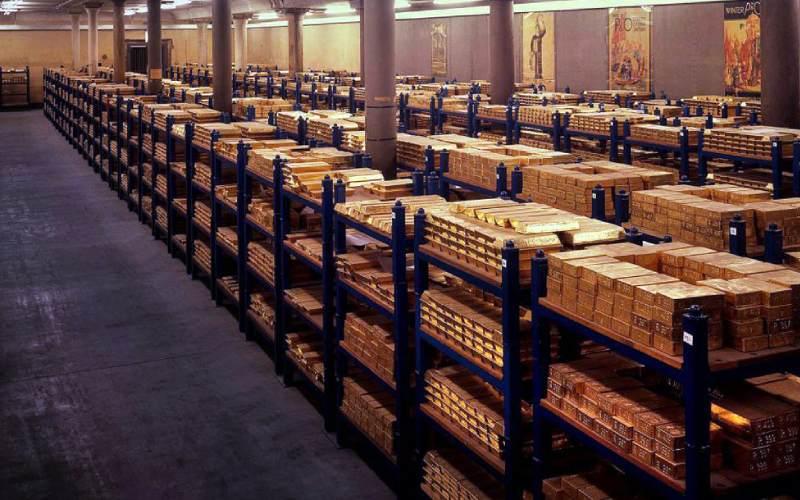 Cambios es las gestiones de reservas de oro de las naciones